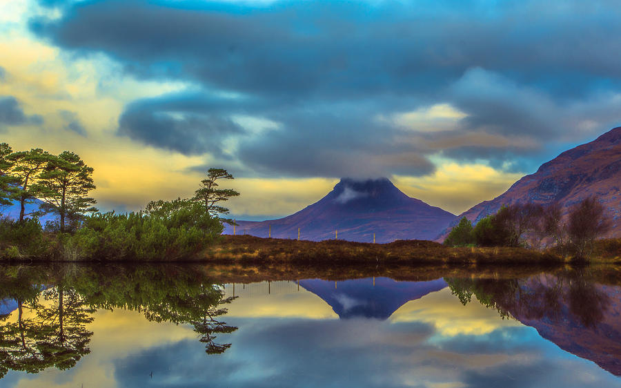 Assynt Photograph - Stac Polly In The Scottish Highlands by Tylie Duff