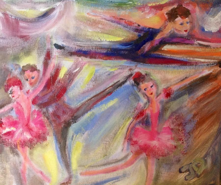 Music Painting - Staccato by Judith Desrosiers