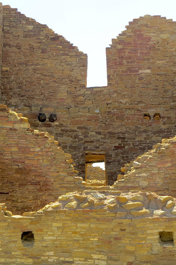 Chaco Photograph - Stacked Doorways by Feva  Fotos
