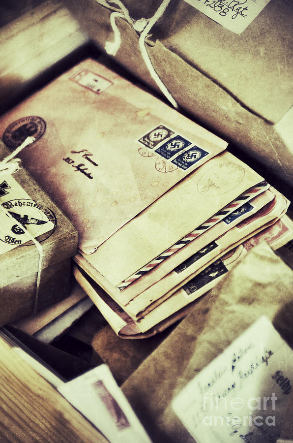 Stacks Of Old Mail Photograph By Birgit Tyrrell