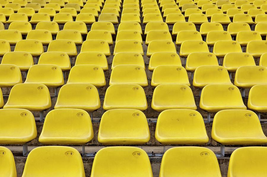 Stadium Seats Photograph by 35007