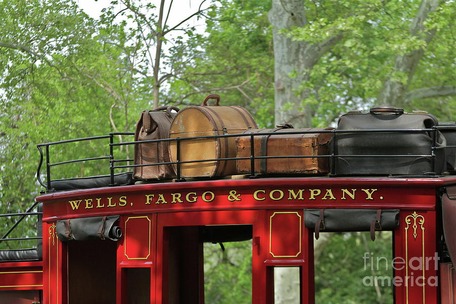Wells Fargo Photograph - Stage Coach by Rick  Monyahan