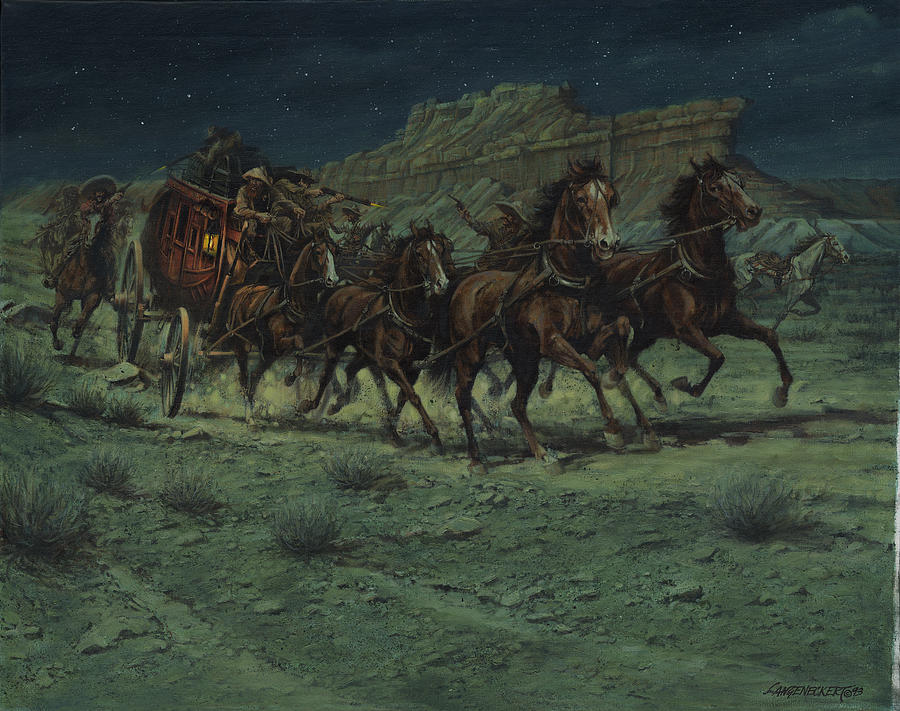 stagecoach drawings | Limited Edition Prints | Wells Fargo ...  |Large Western Stagecoach Art