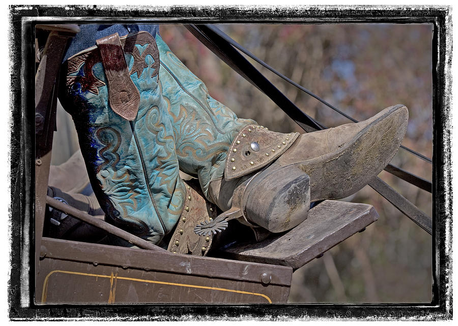 Stagecoach Cowboy's Boots by Judy Deist