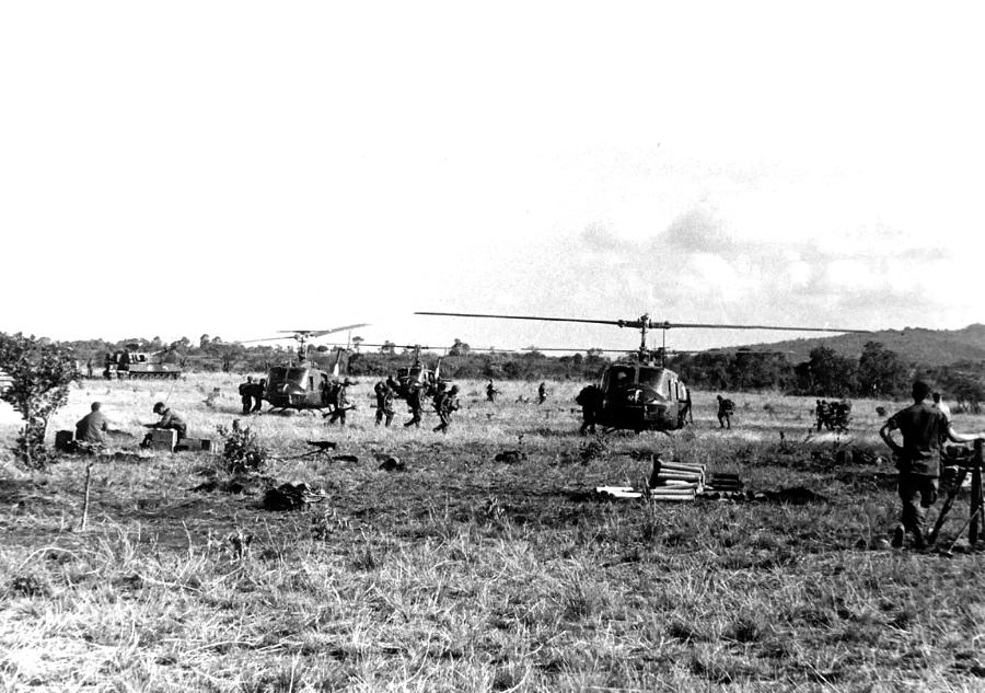 Vietnam Photograph - Staging by Norman Johnson