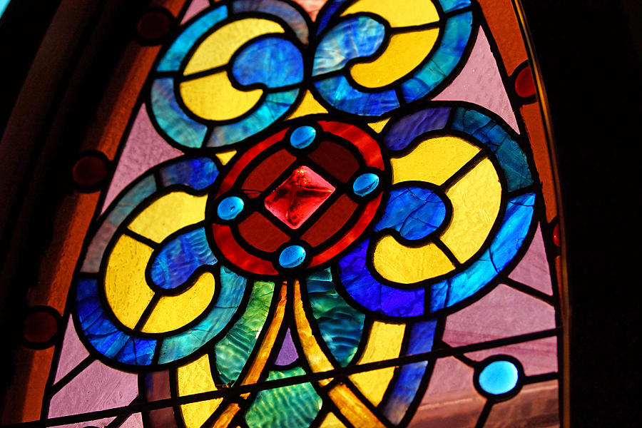 Stain Glass Photograph - Stain Glass by Thomas Fouch