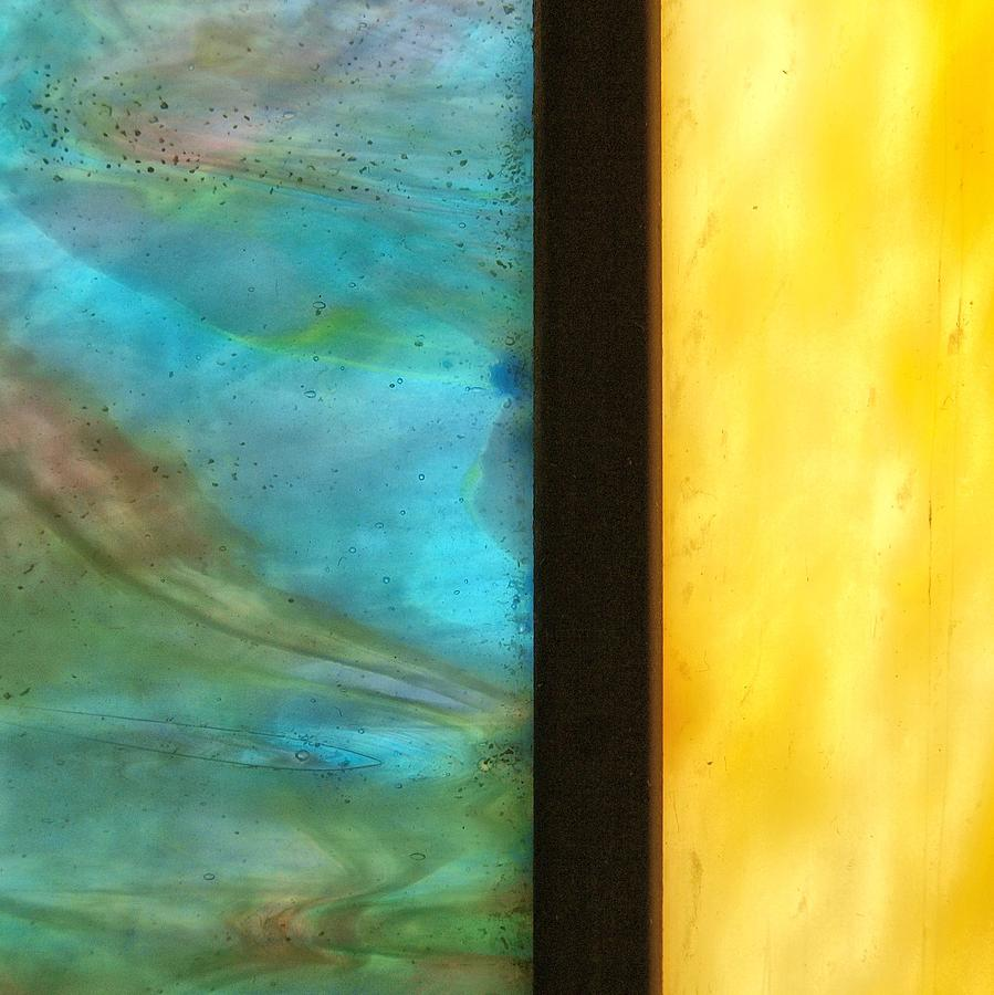 Stained Glass Photograph - Stained Glass 1 by Tom Druin