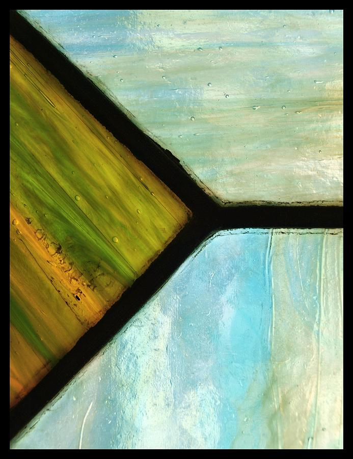 Abstract Photograph - Stained Glass 6 by Tom Druin