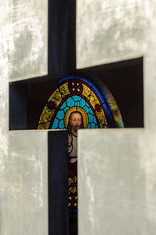 Recoleta Photograph - Stained Glass In A Tomb by Jess Kraft