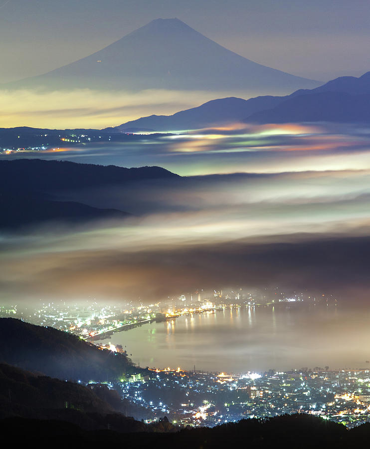 Japan Photograph - Staining Sea Of Clouds by Hisashi Kitahara