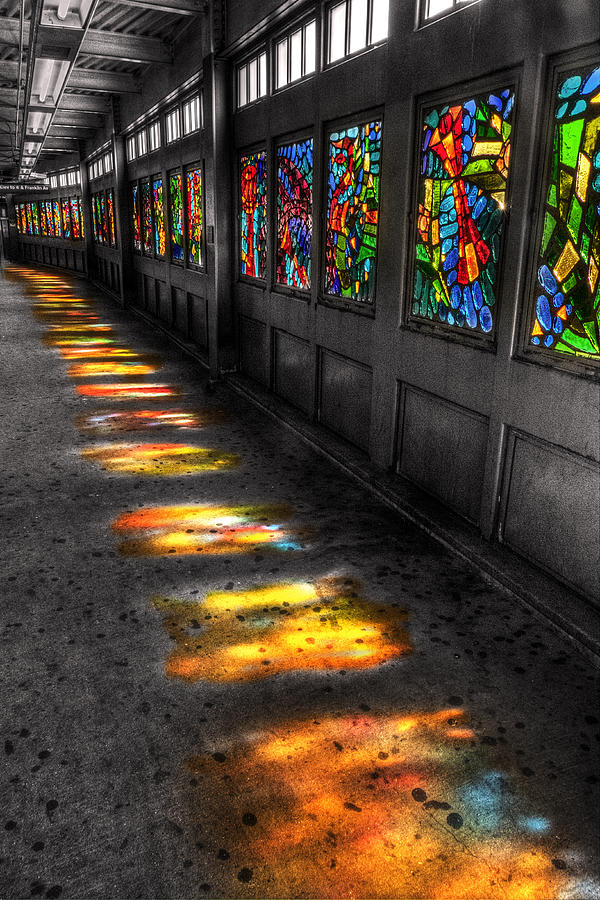 Stains In The Path Digital Art - Stains In The Path by William Fields