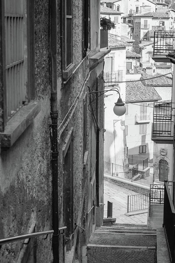 Stair In Scanno, Italy Photograph by Deimagine