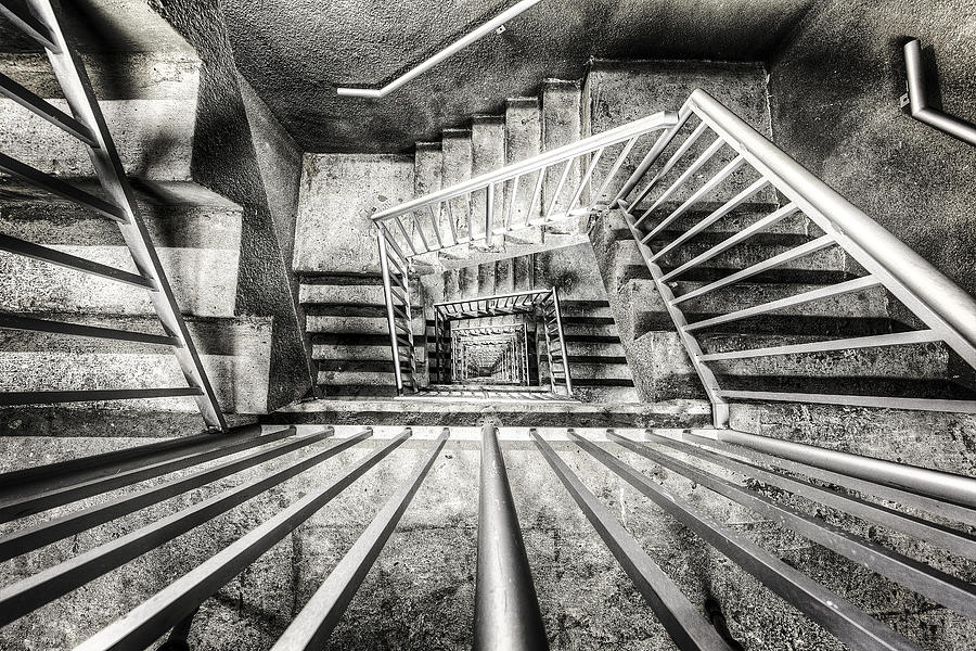 Stairs Photograph - Staircase I by Everet Regal
