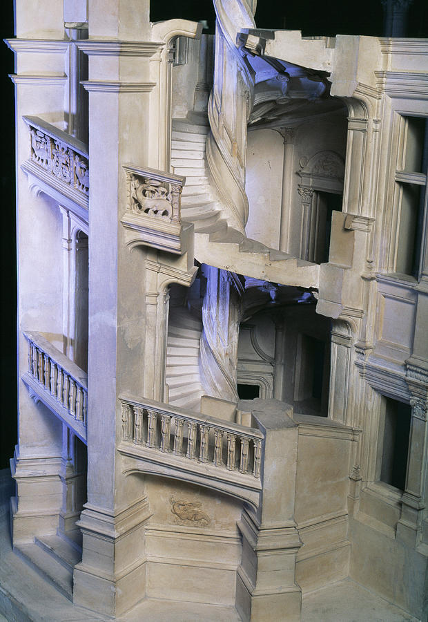 Science Education Photograph   Staircase Model By Pascal  Goetgheluck/science Photo Library