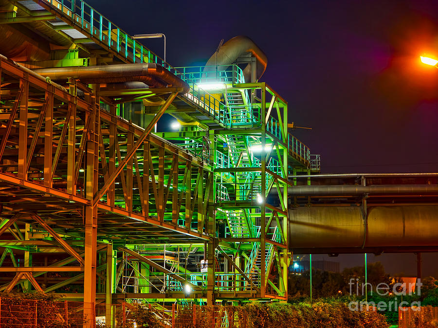 Staircase Of Steel Photograph