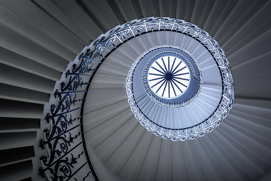 London Photograph - Staircase by Sus Bogaerts