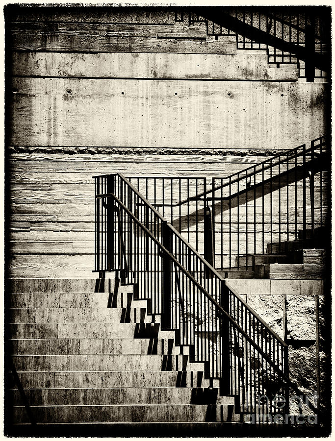 Stairs Photograph - Stairs 1 by David Doucot