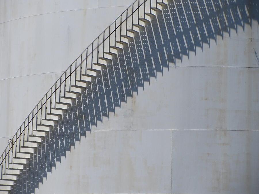 Milwaukee Photograph - Stairs And Shadows 3 by Anita Burgermeister
