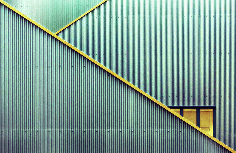 Lines Photograph - Stairs by Jan Niezen