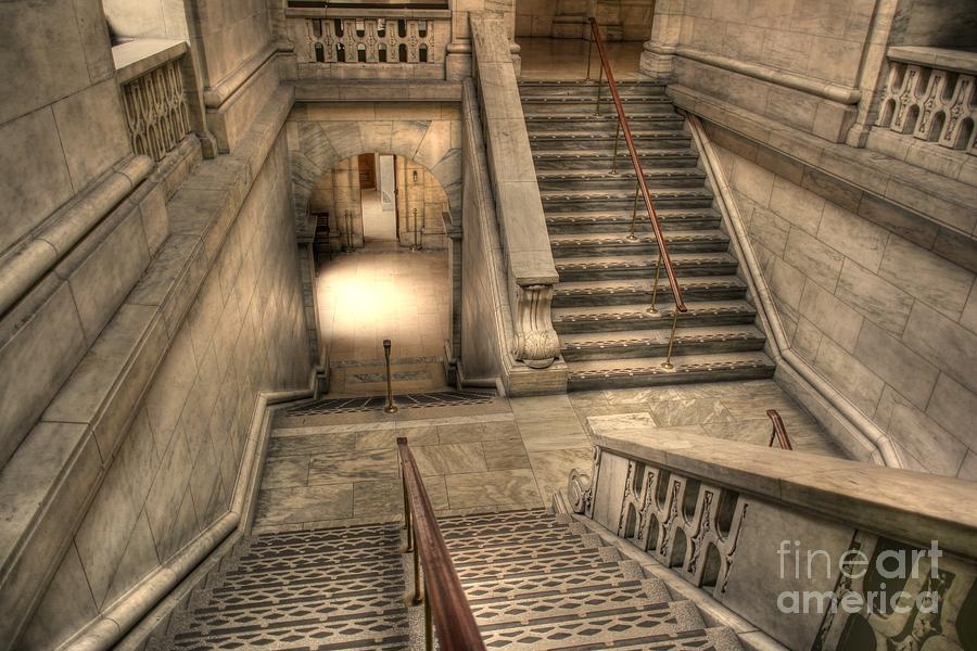 Stairs Photograph - Stairs Up And Down by David Bearden