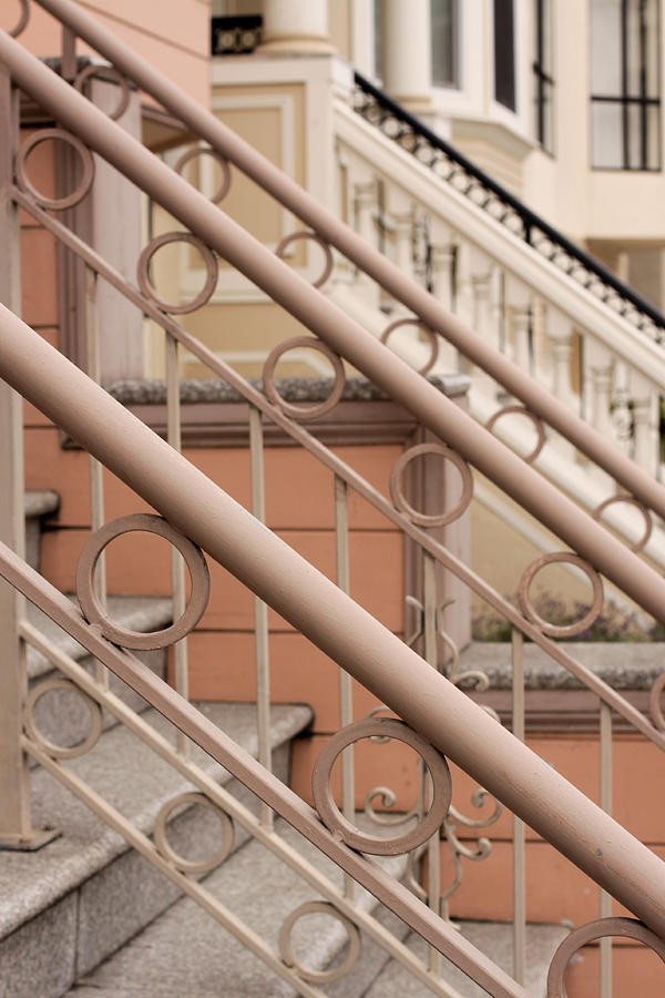 Stairs Photograph - Stairway Detail by Denice Breaux
