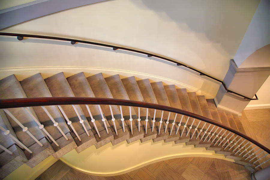 Architecture Photograph - Stairway Study IIi by Steven Ainsworth