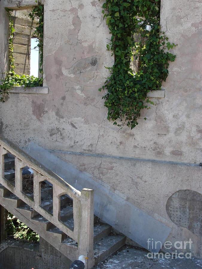 Alcatraz Photograph - Stairway To Alcatraz by Mark Etchason