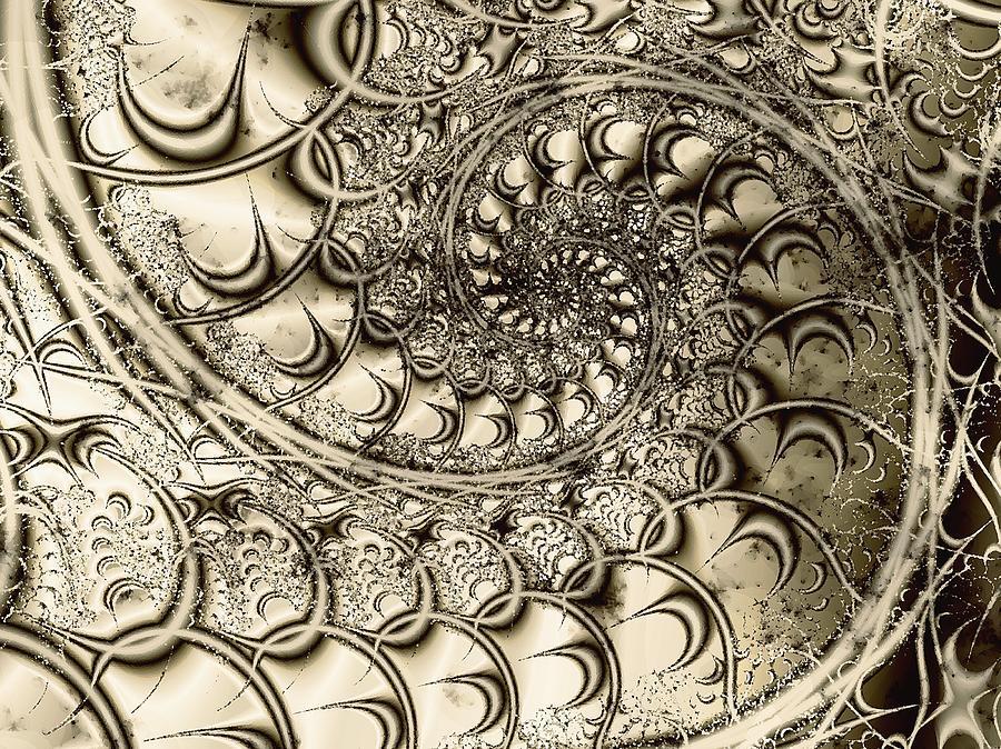 Malakhova Digital Art - Stairway To Heaven by Anastasiya Malakhova