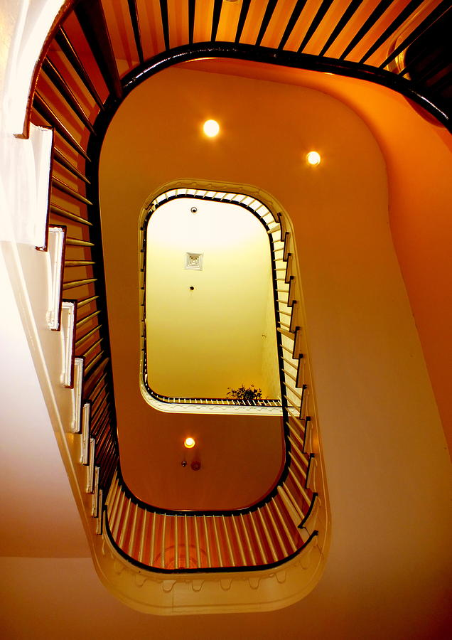 Contemporary Photograph - Stairway To Heaven by Karen Wiles