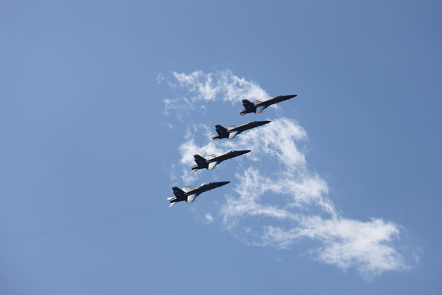 Blue Angels Photograph - Stairway To Heaven by French Toast