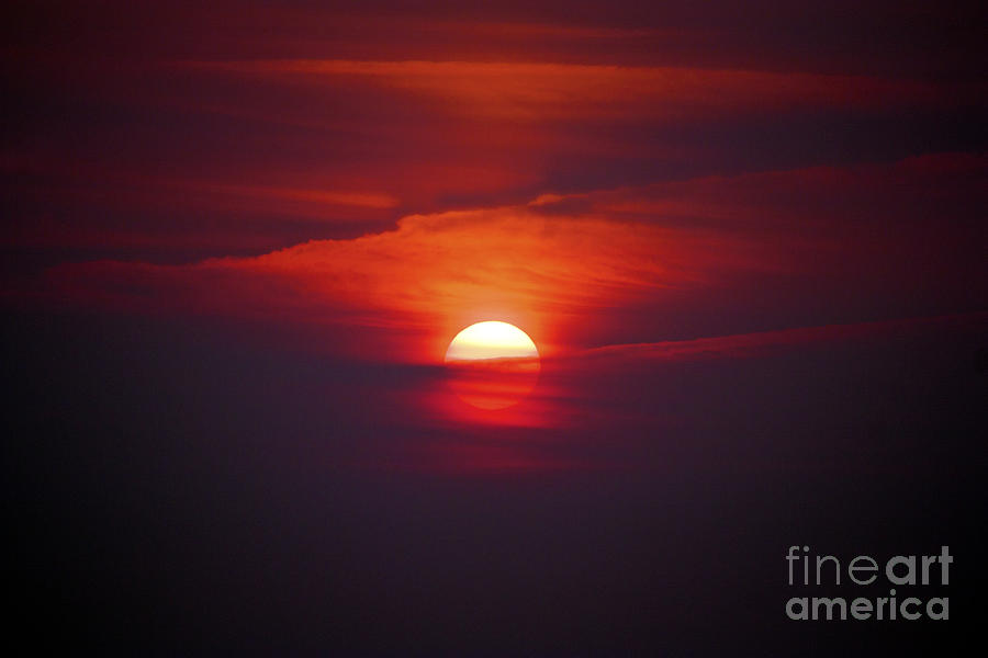 Sun Photograph - Stairway To Heaven by Terri Waters