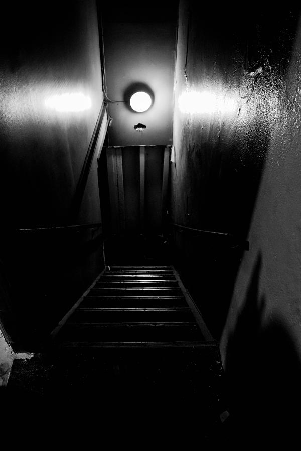 Stairway Photograph - Stairway To Hell by Louis Maistros