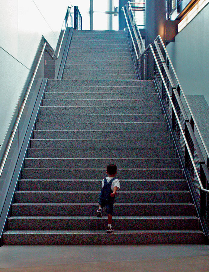 Washington D.c. Photograph - Stairway To... by Pablo Rosales