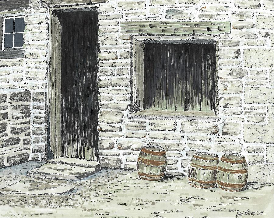 Brewery Drawing - Stale Ale by Dan Haley
