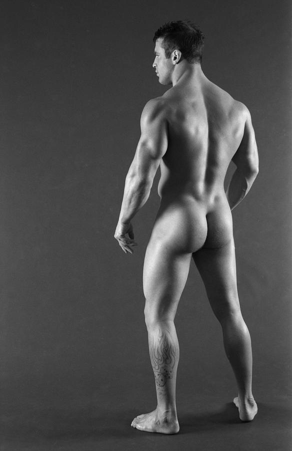 Male Nude Photograph - Stand Tall by Thomas Mitchell