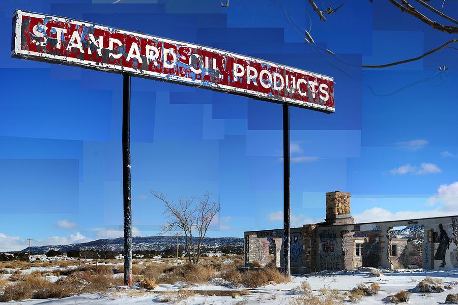 Standard Oil Photograph - Standard by Stephen Farley