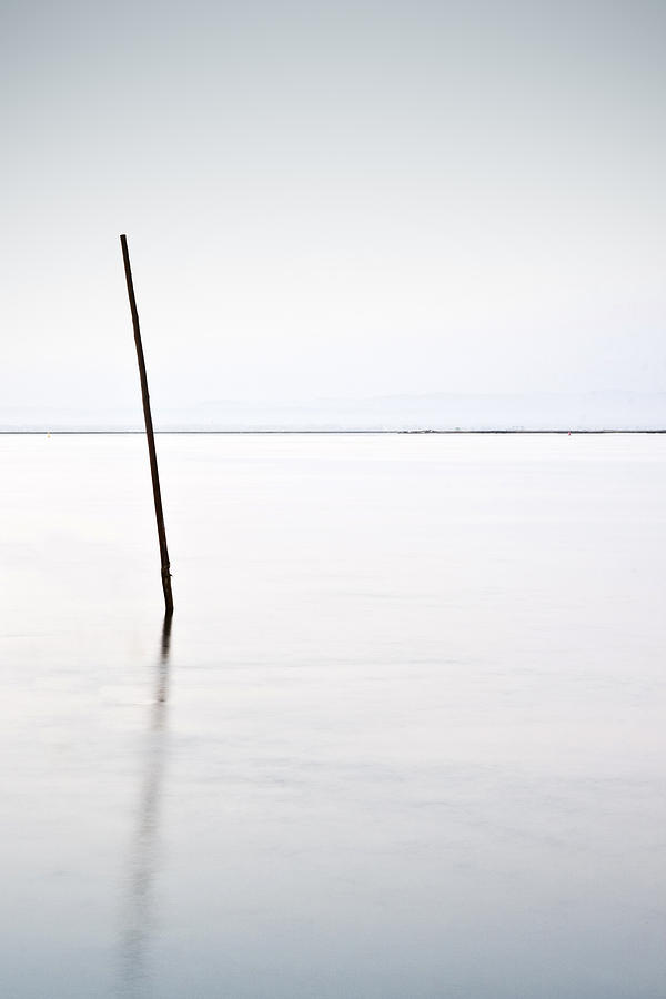 Waterscape Photograph - Standing Alone by Jorge Maia