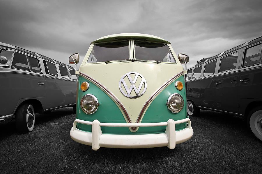 Volkswagen Photograph - Standing Out by Steve McKinzie