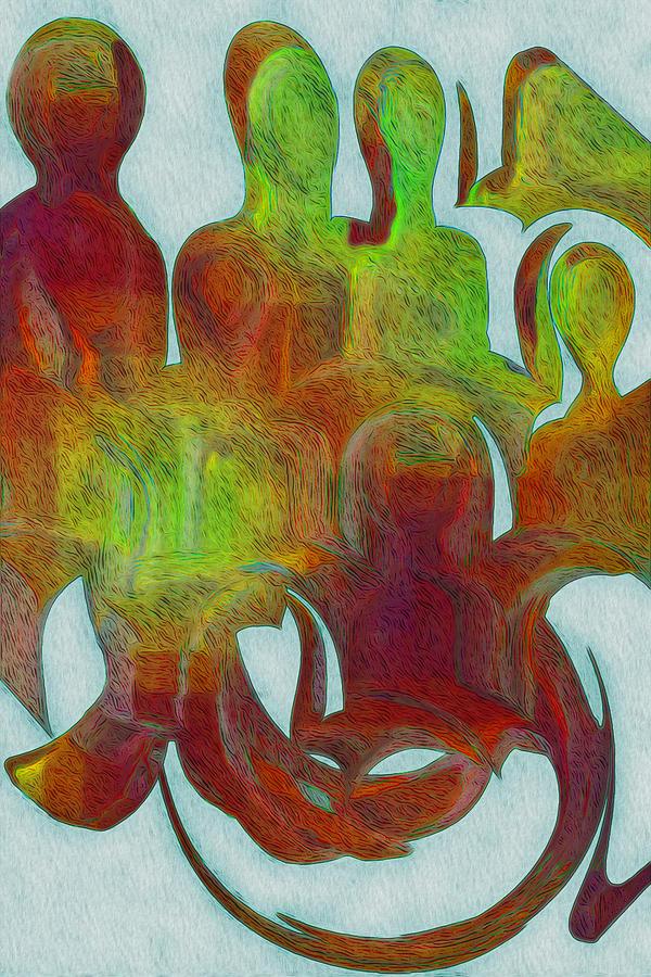 Standing Ovation Painting - Standing Ovation 2 by Jack Zulli