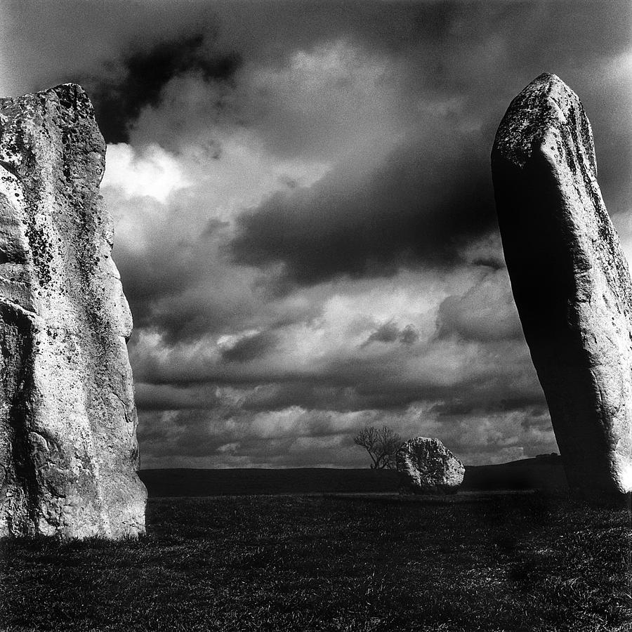 Avebury Photograph - Standing Stones Avebury by Mark Preston