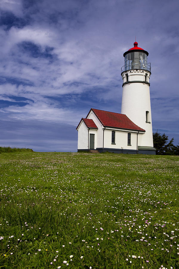 Lighthouse Photograph - Standing Tall by Andrew Soundarajan