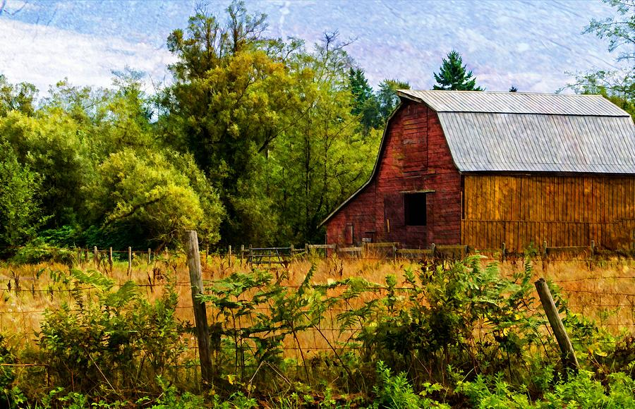 Barn Photograph - Standing The Test Of Time by Jordan Blackstone