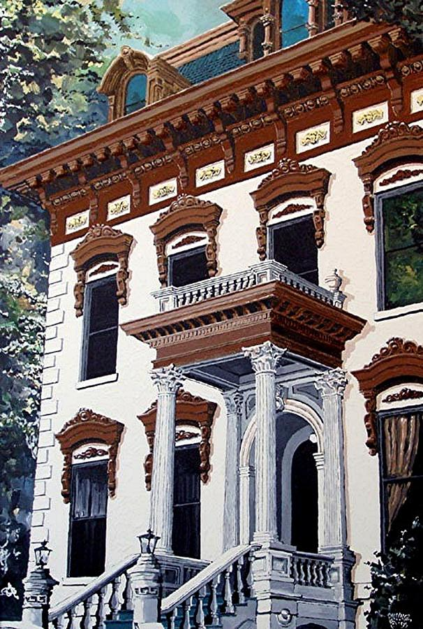 Sacramento Painting - Stanford Mansion by Paul Guyer