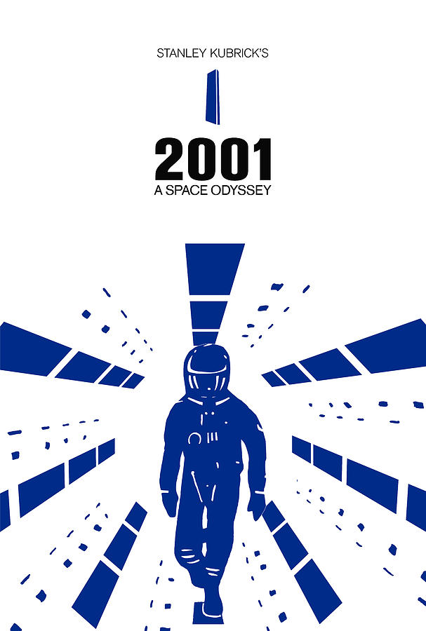 Stanley Kubrick 2001 A Space Odyssey Movie Poster Digital ...