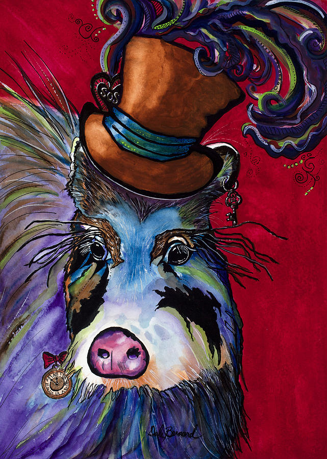 Peccary Painting - Stanley Steampunk by Dale Bernard