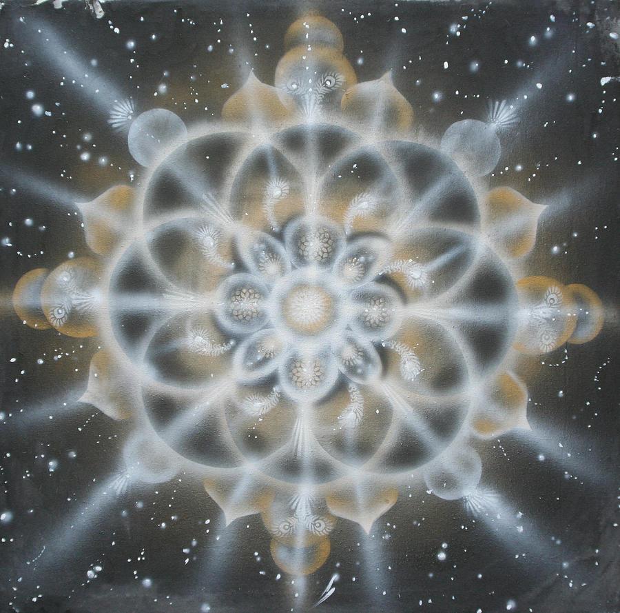 Star Painting - Star by Elizabeth Zaikowski