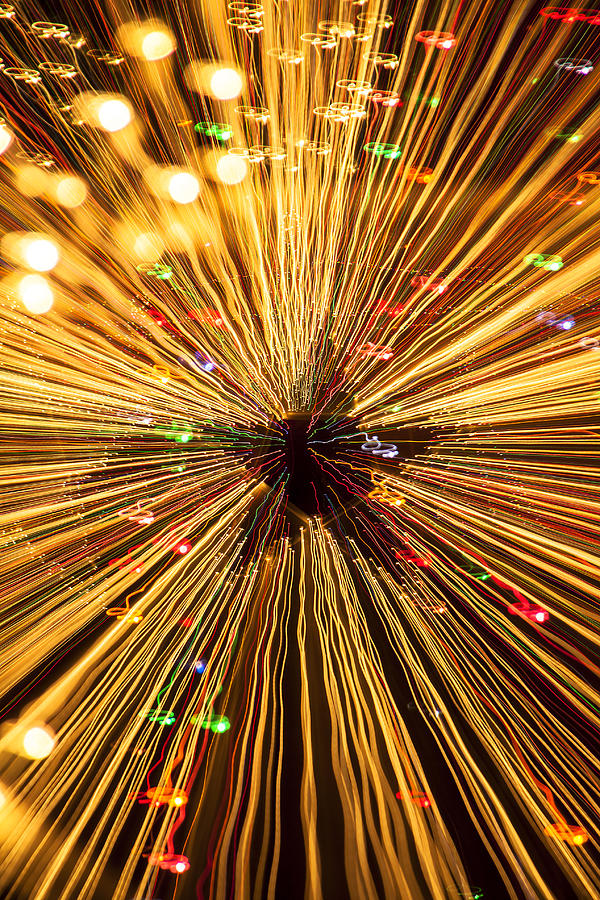 Star Abstract Photograph - Star Lights by Garry Gay