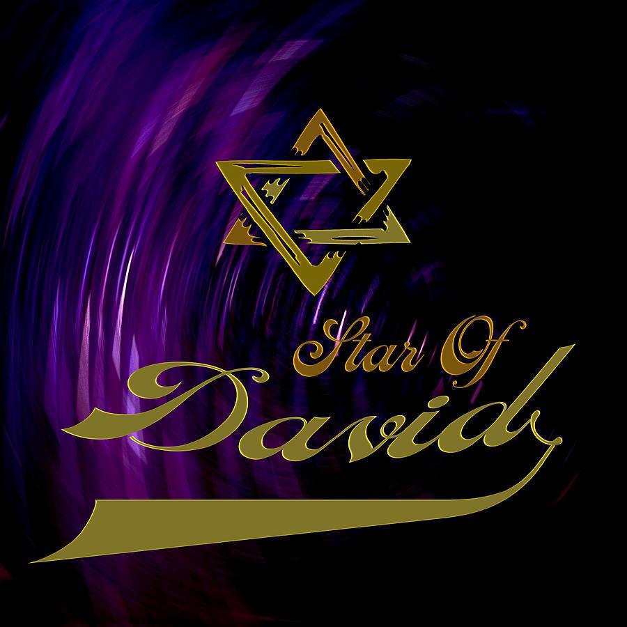 Star Of David Photograph - Star Of David by Daryl Macintyre