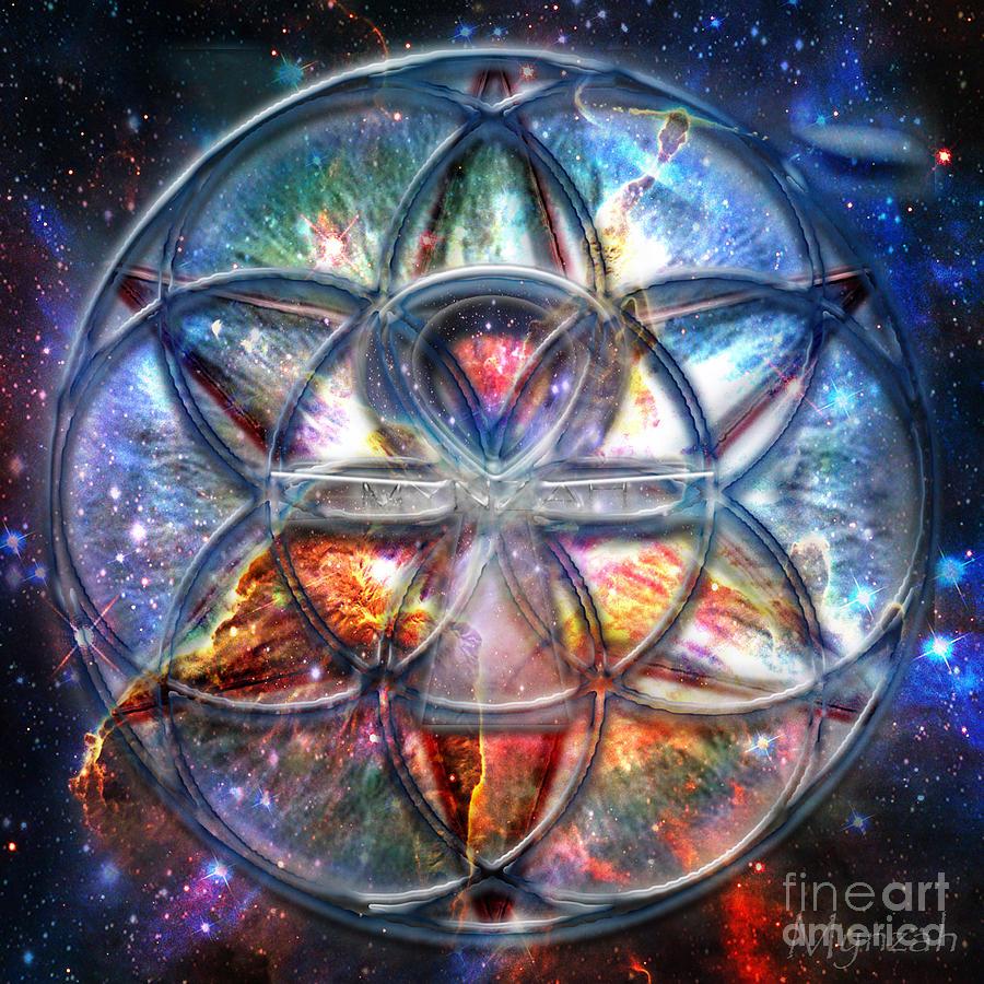 Star Seed Digital Art By Mynzah Osiris