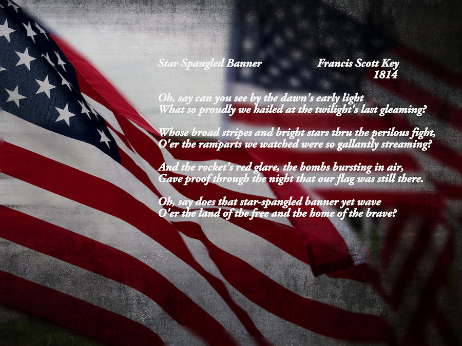 American Photograph - Star Spangled Banner  by Ella Kaye Dickey
